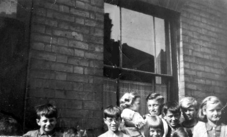 Peel Street morning of the Queens Coronation 1953