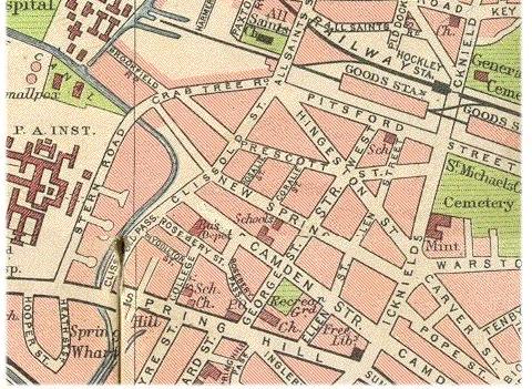 MAP OF BROKFIELDS  Thanks to Bob Johnson 24/04/04