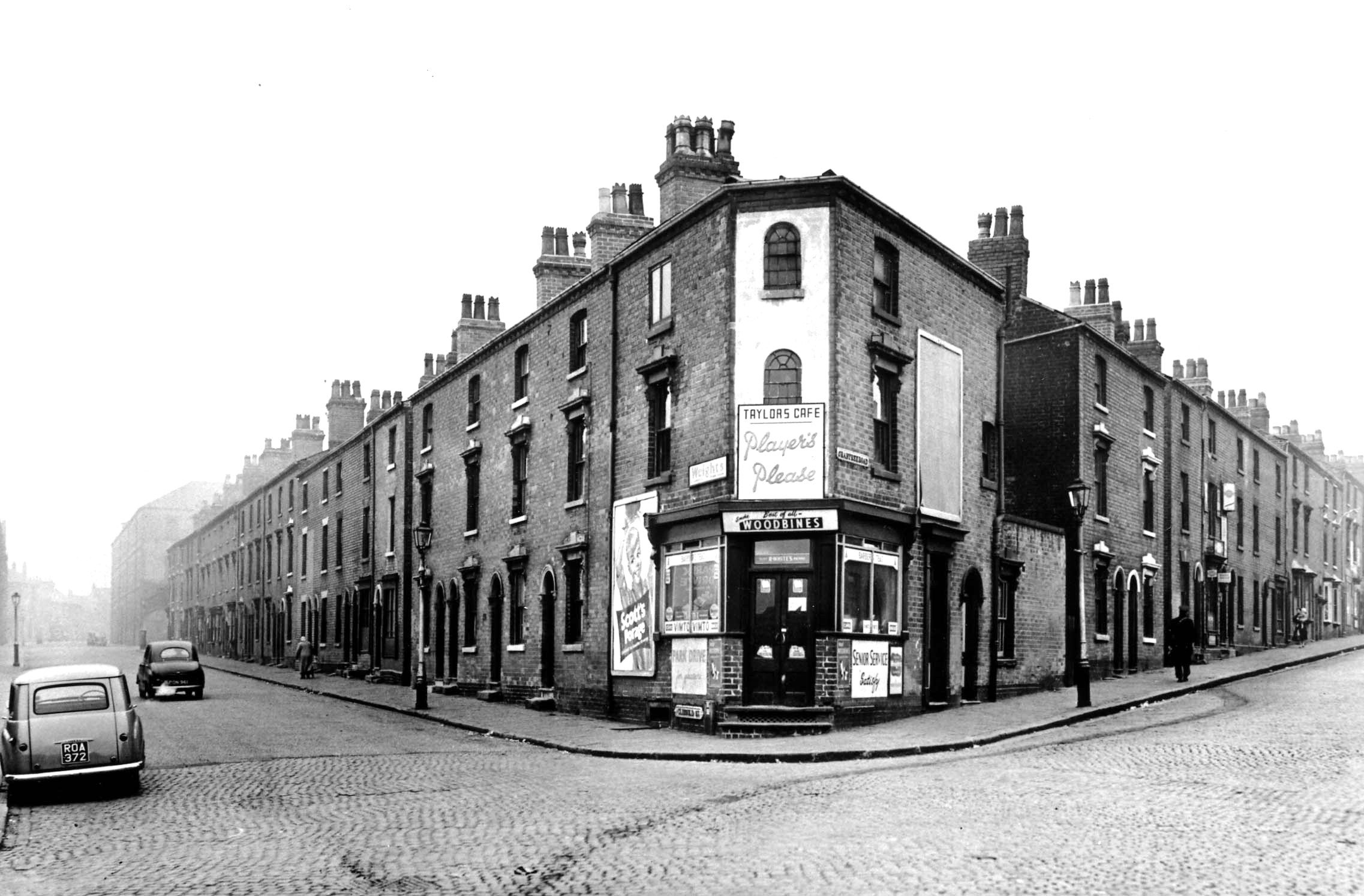 CRABTREE ROAD TO THE RIGHT OF THIS JUNCTION WITH CLISSOLD STREET