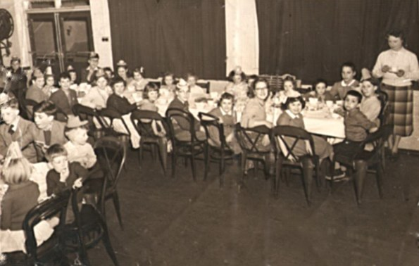 Christmas party at The Birmingham Mint around 1955