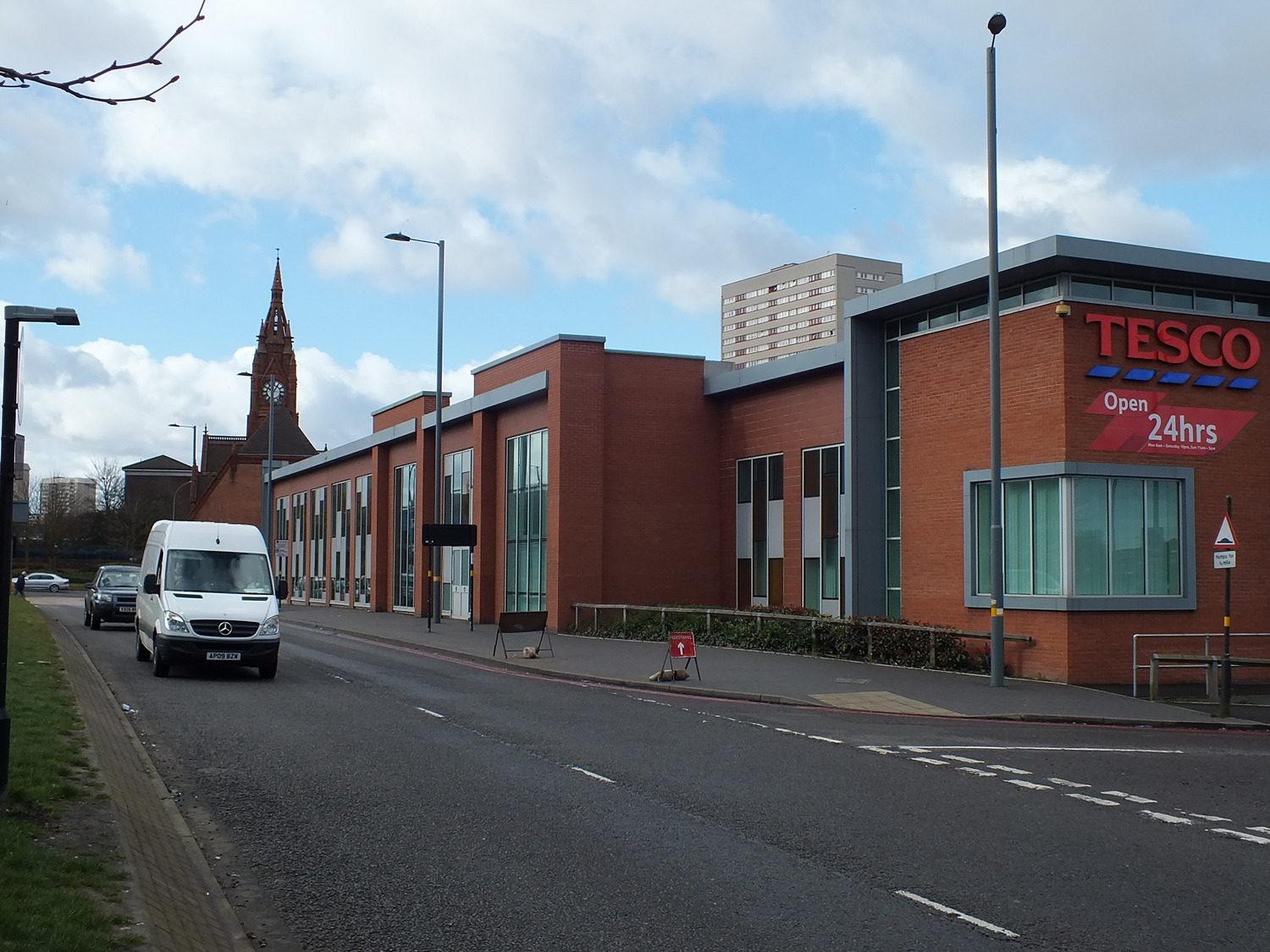 NEW TESCO STORE ICKNIELD STREET CNR WITH CAMDEN STREET 2015