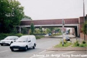 NEW RAILWAY BRIDGE ICKNIELD STREET