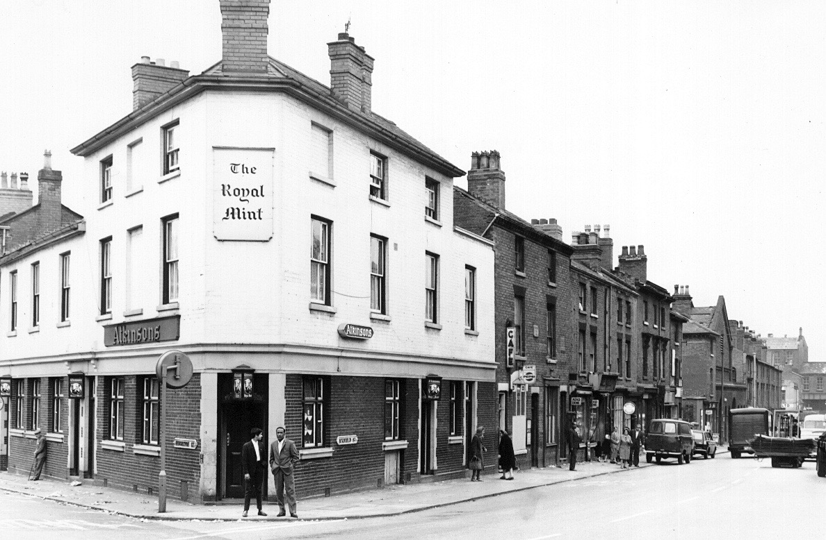 The Royal Mint Icknield Street and Hingeston Street corner was opposite the Birmingham Mint Ltd (where they made coins of the Realm).