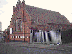 Methodist Church building (that used to be) in New Spring Street