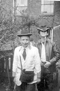Photo is of mom's milkman & a boy named Tony Ralph