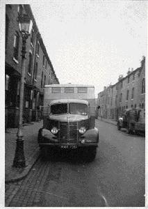Outside 234 New Spring Street 1958