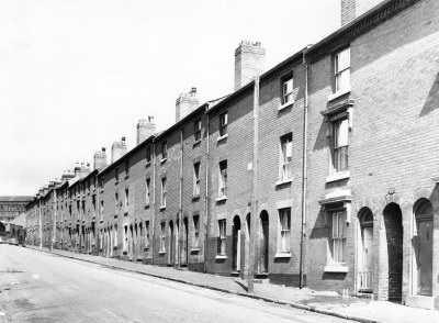 89 PRESCOTT STREETis the first house on the right.