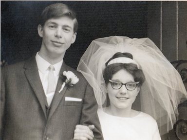 Albert and Monica Moulsdale Wedding Day 18 March 1967