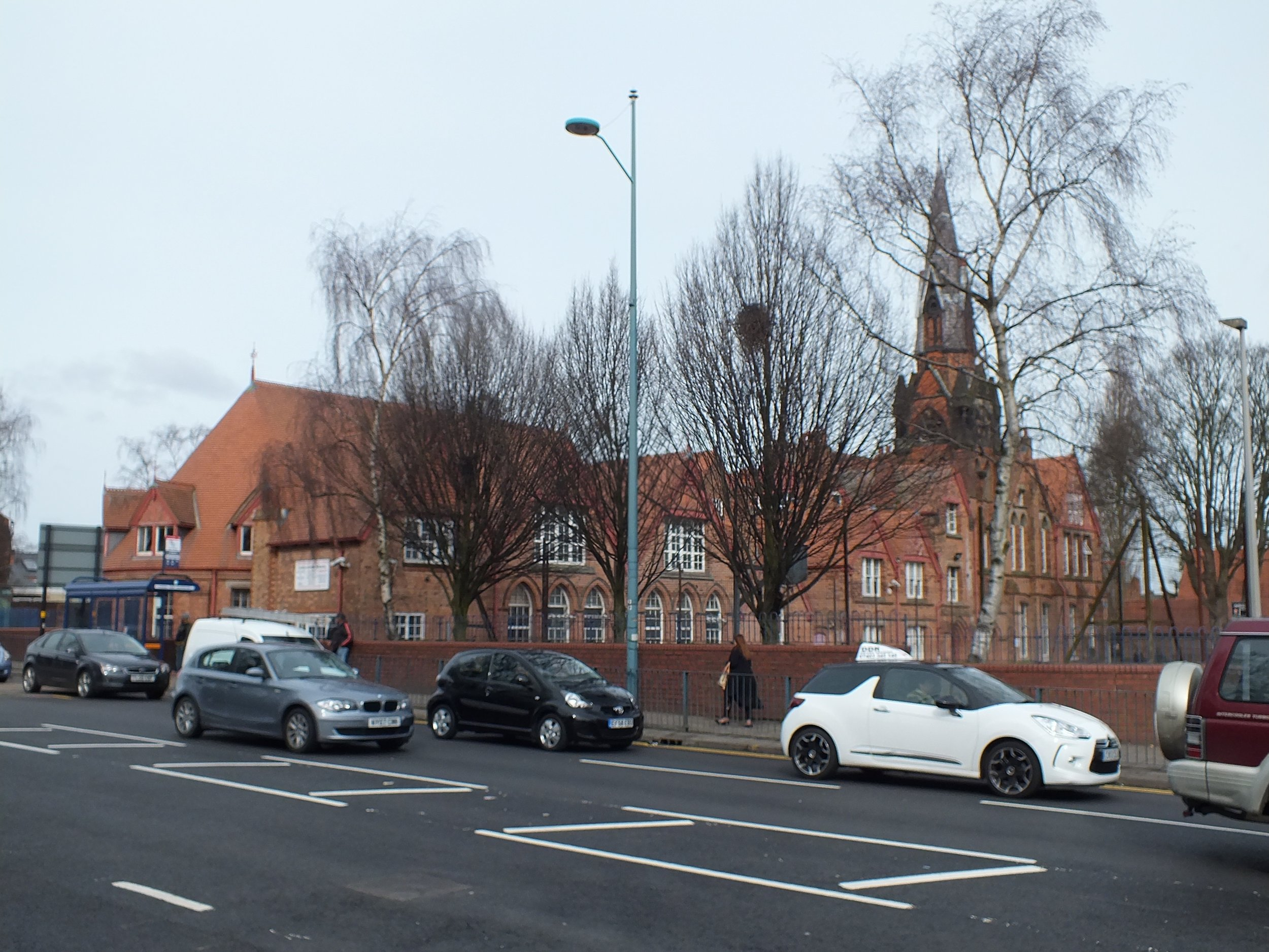 Dudley Road School from Dudley Road