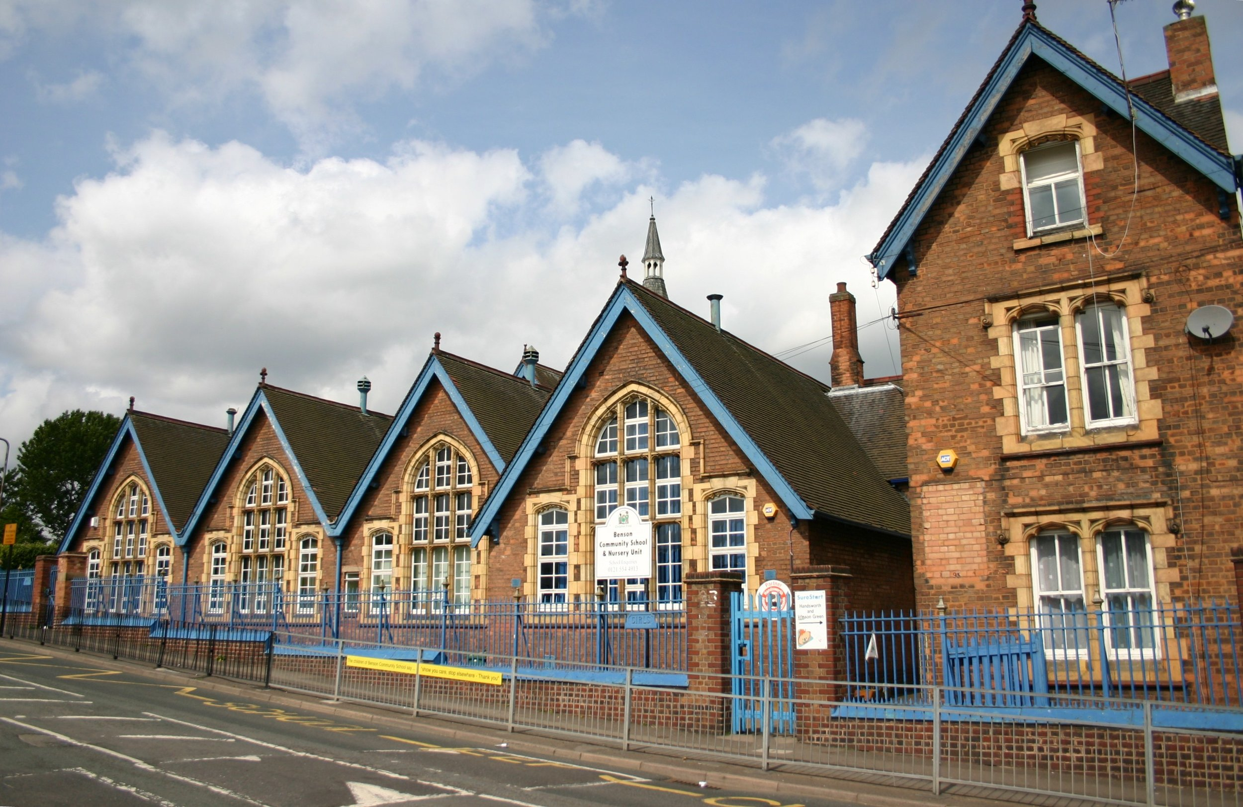 BENSON ROAD SCHOOL built in 1888 still there today 2018. Photo taken in 2009