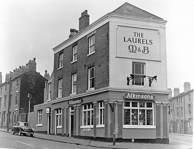 THE LAURELS THE PUB ANDREWS FATHER SPOKE ABOUT (SEE ABOVE FROM ANDREW)