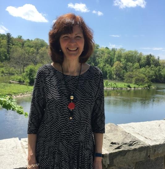 Susan at Beebe Lake. Picture: Susan Schattschneider.