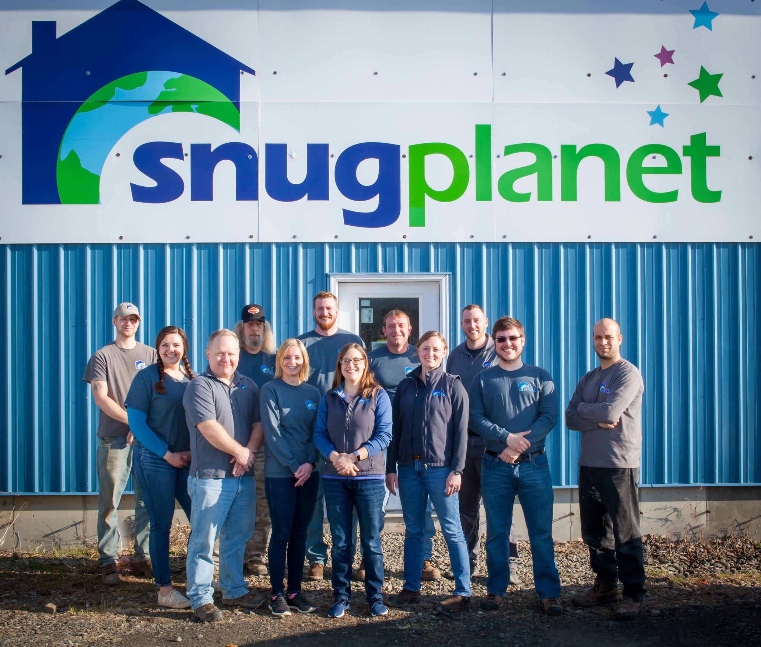 The Snug Planet team   Photo courtesy Snug Planet