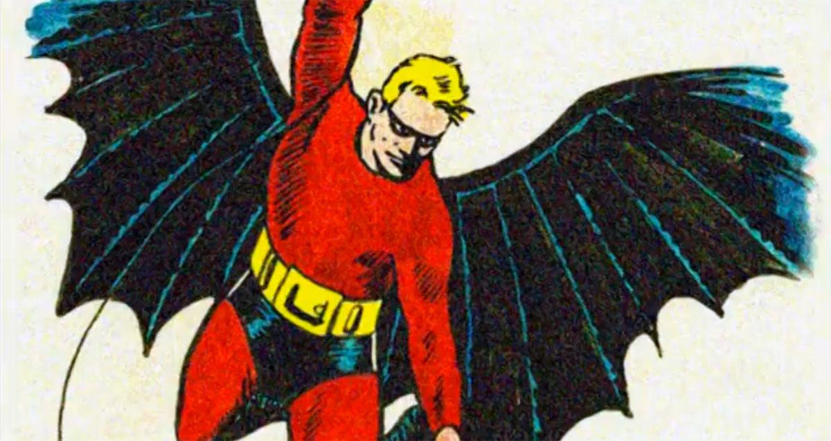 Batman, before Bill Finger