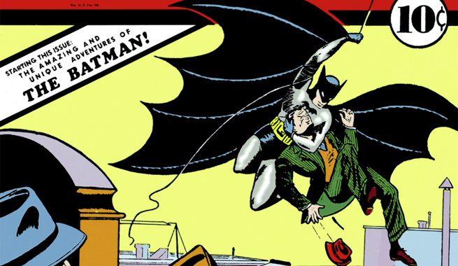 Batman, after Bill Finger