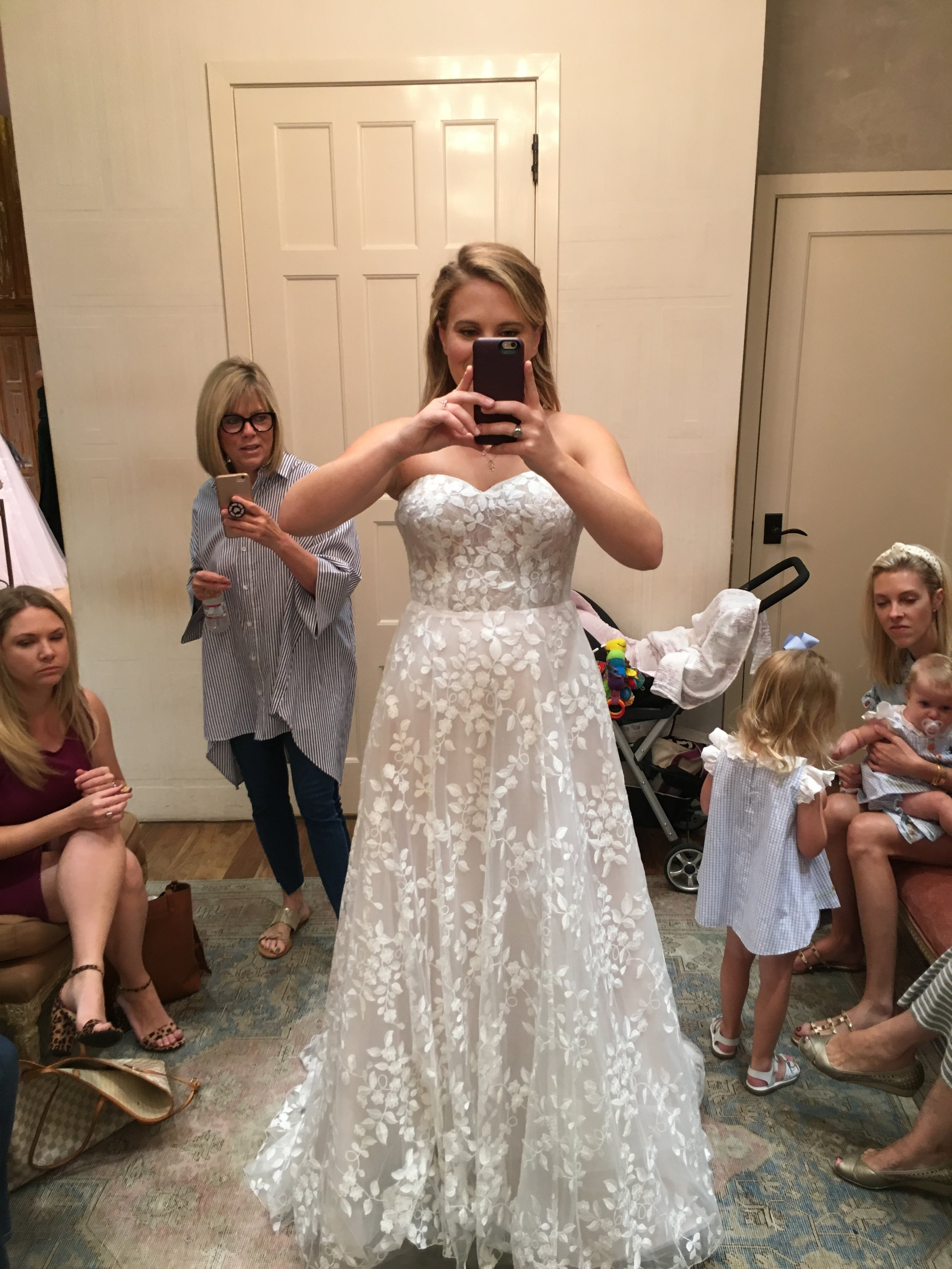 Whipsers and Echos Olson Gown - $1400- BHLDN