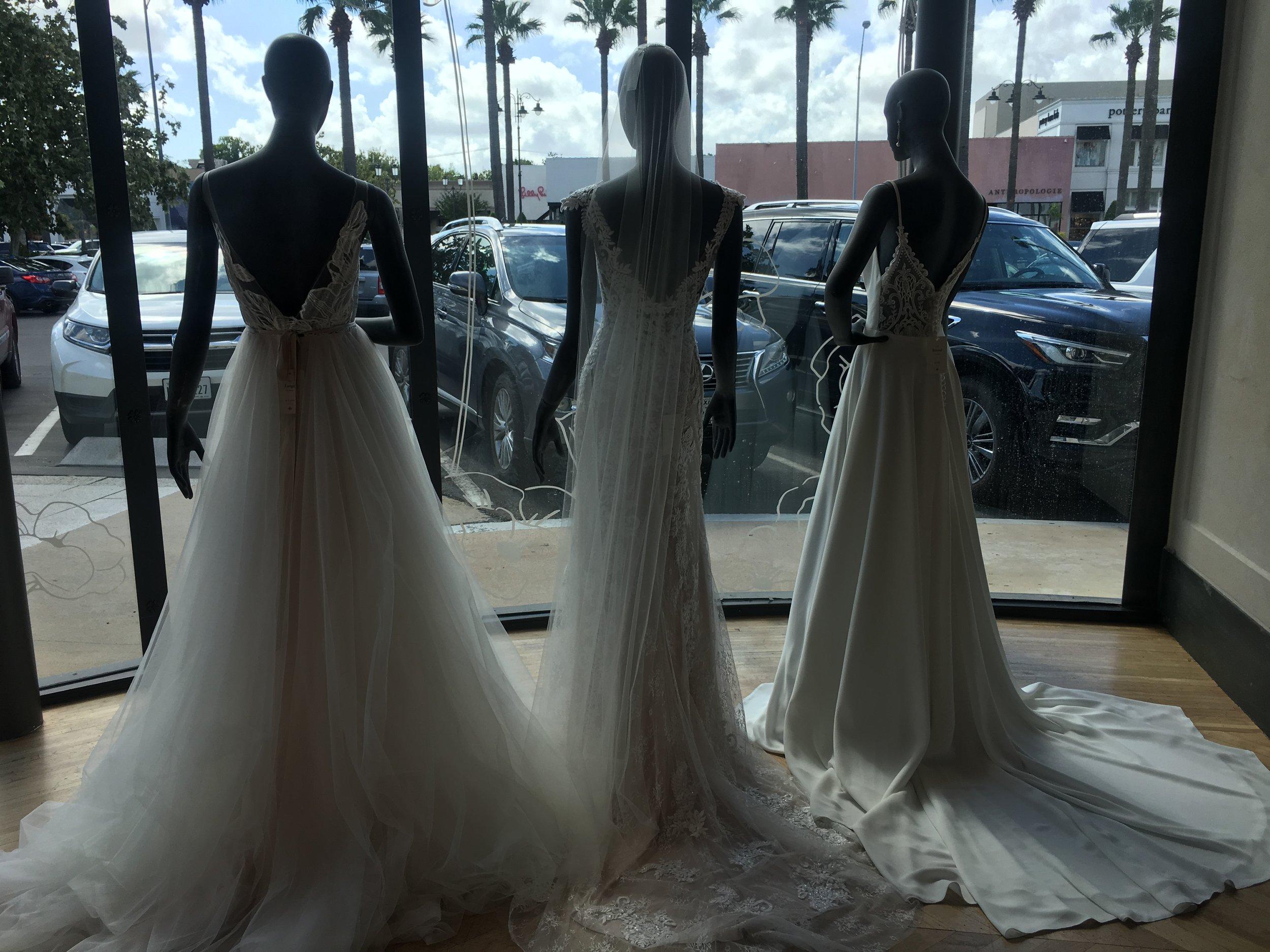 Soooo many beautifi BHLDN gowns!