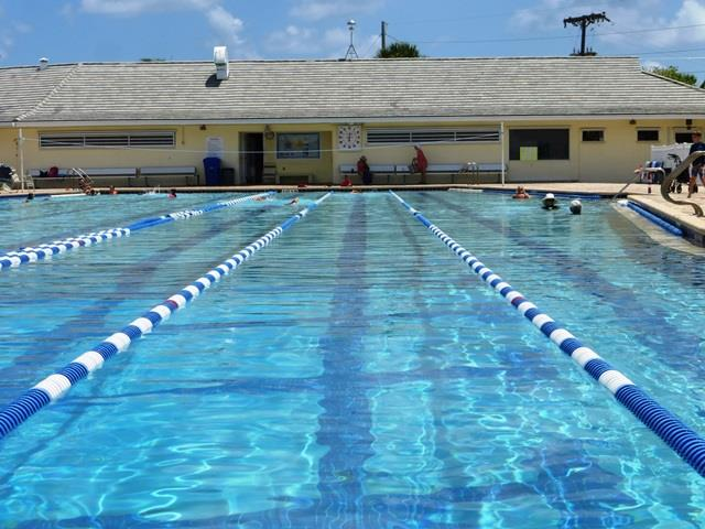 The North Palm Beach Pool, the site of Benjamin's swim practices. Photo Courtesy of NBP Pool.