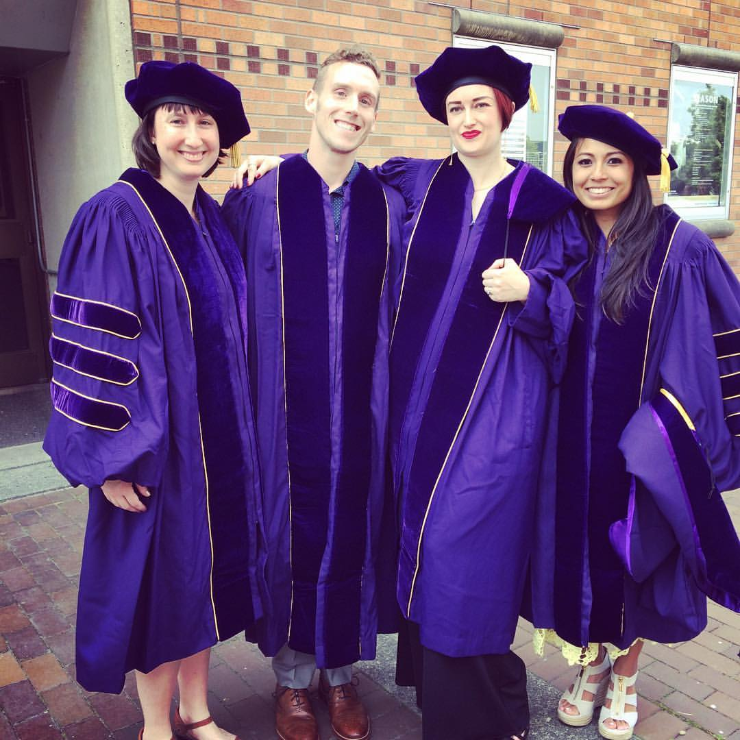 Alissa, me, Stevi, and LeAnne. Graduation June 7, 2017.