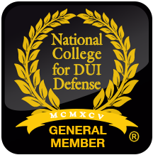 National College for DUI Defense General Member Logo