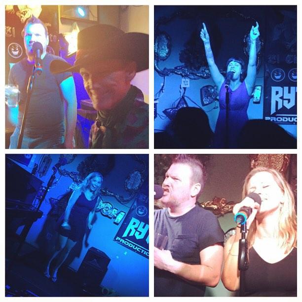Karaoke night, baby!!