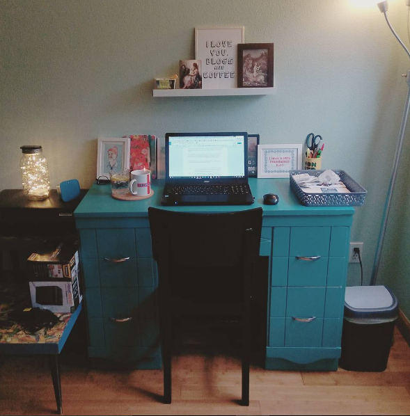 My little home office!