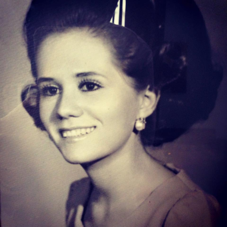 My beautiful mom, before I was born