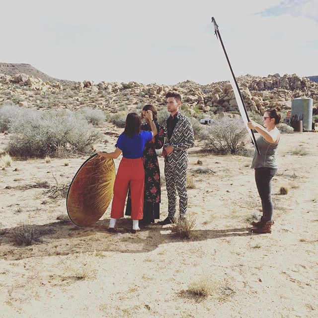 Desert Magazine  Photoshoot - Behind the Scenes