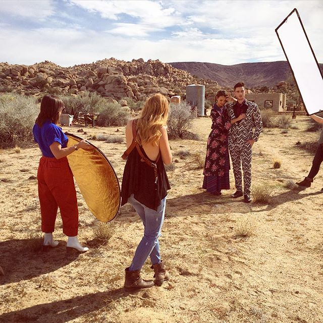 Desert Magazine Photoshoot - Behind the Scenes