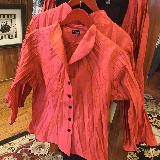 We are crazy about these beautiful Fall colors in the Beluva blouses! @sheppardtucker #sheppardtucker #highcountrystylewaynesville #highcountrystyle #beautifulblouses #828isgreat #shoplocal #bestboutiqueever #fall2019fashion