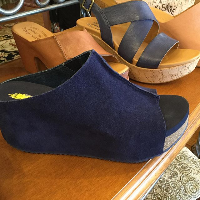 Check out these new Volatile wedges! 😍❤️. #volatileshoes #highcountrystyle  #highcountrystylewaynesville #shoplocal #828isgreat #westernncmountains #waynesvillenc #cuteshoes #fallfashion