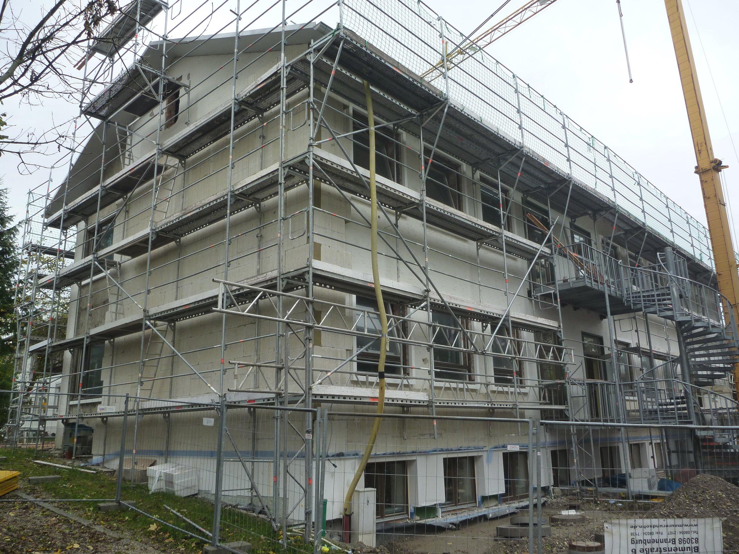Montessorischule Rohrdorf / Rohbau Sanierung