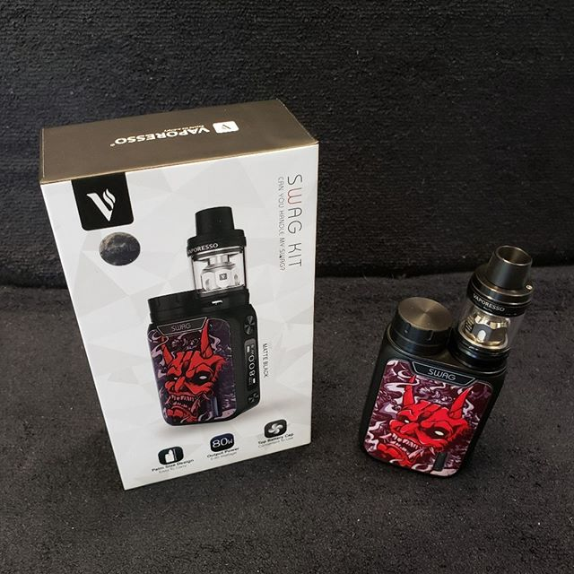 Construction Sale Special: Vaporesso Swag Kit 59.99 Limited Quantity, come in now!  Https://sylvavapor.com  #sylva #cullowhee #wcu #vaping #sylavapor #vape #vapor #kit #wnc #cherokee #brysoncity #dillsboro