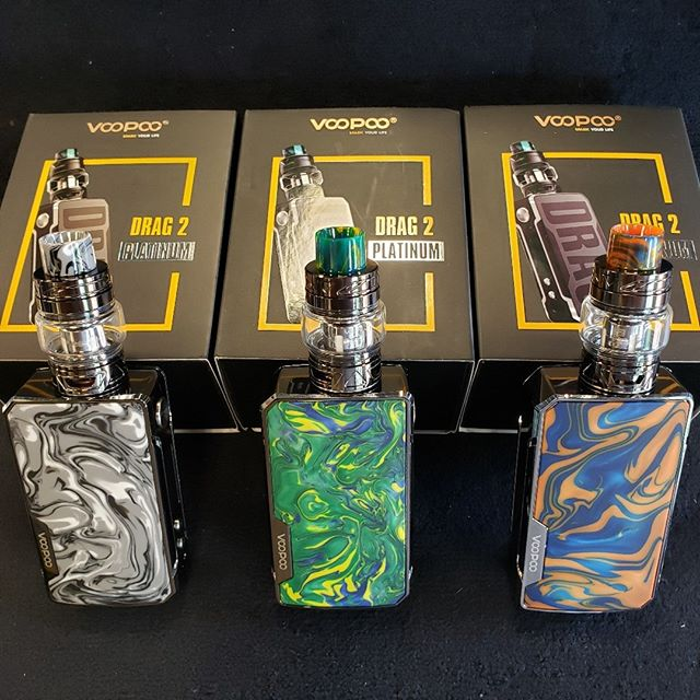 VooPoo Drag 2 Platinum - Up Your Game In Style! Come in and see all of our styles in stock now at Sylva's Largest Vape Shop. https://sylvavapor.com  #vape #vaping #vapor #vaper #sylvavapor #sylva #dillsboro #cullowhee #wcu #cherokee #brysoncity #voopoo