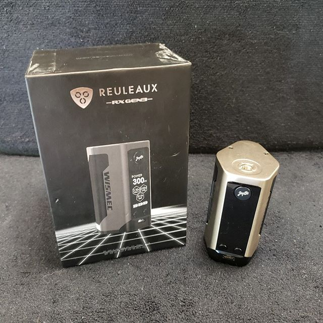 Construction Sale Special! Wismec Reuleaux 3 Box Mod $59.99. Quantity limited, hurry in today!  https://sylvavapor.com  #vape #vapor #vaper #vaping #vapeshop #boxmod #sylva #cullowhee #university #vapor #wcu #dillsboro #cherokee #brysoncity