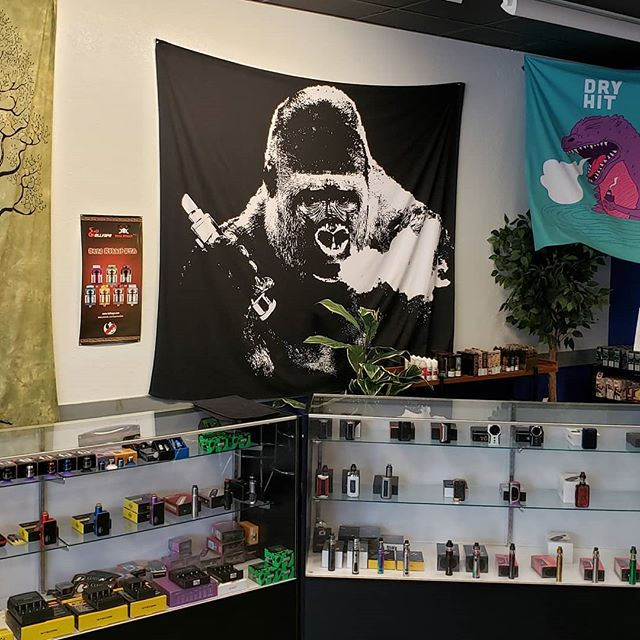 """Sylva Vapor is the coolest vape shop in town"" - Vape Gorilla. Nobody argues with a Gorilla... 😎  https://sylvavapor.com  #vapor #vape #vaping #sylavapor #cullowhee #wcu #dillsboro #brysoncity #cherokee"