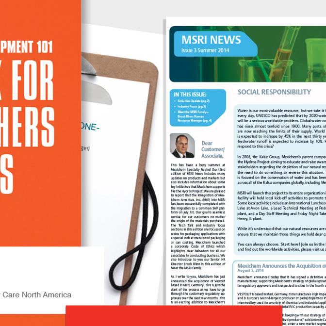 Newsletters & Corporate Literature
