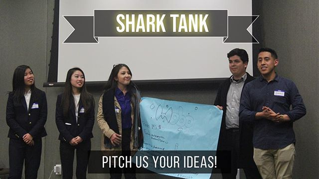 Last night's Shark Tank event was a success! Thanks for pitching your ideas, you guys did great 👍🏾
