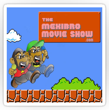 The MexiBro Movie Show stickers are perfect to plaster on all your stuff! Stick 'em on your pencil box, your Trapper Keeper, and all the other things the kids are into these days.  Stickers come in three sizes! Click the image to order!