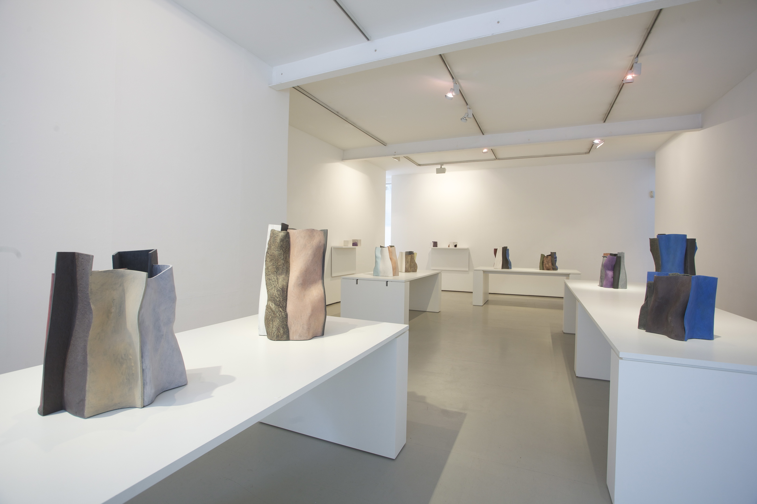 'The shape of things' solo exhibition, Marsden Woo 2012, photo © Phil Sayer