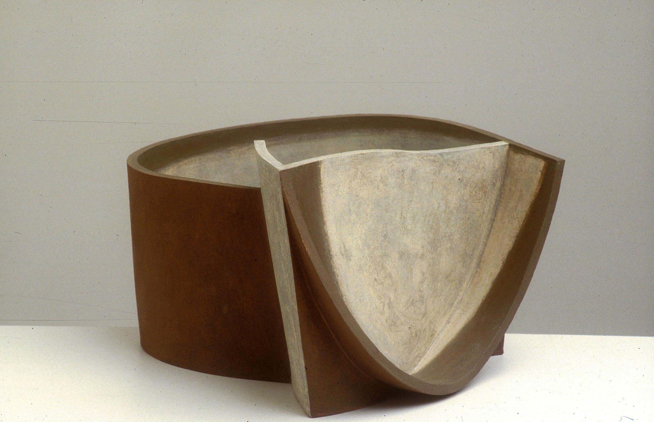 Pot, 1990, 23cm high
