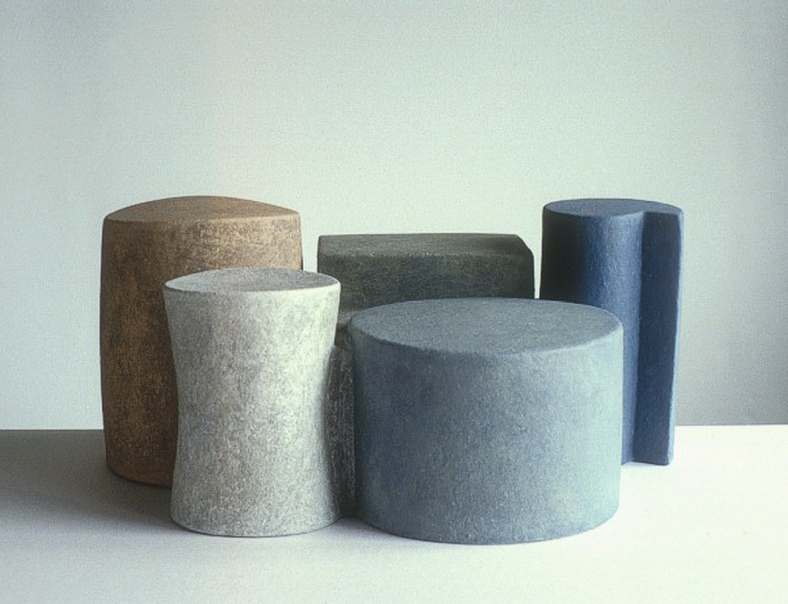 Still life with five forms, 1997, 15cm high