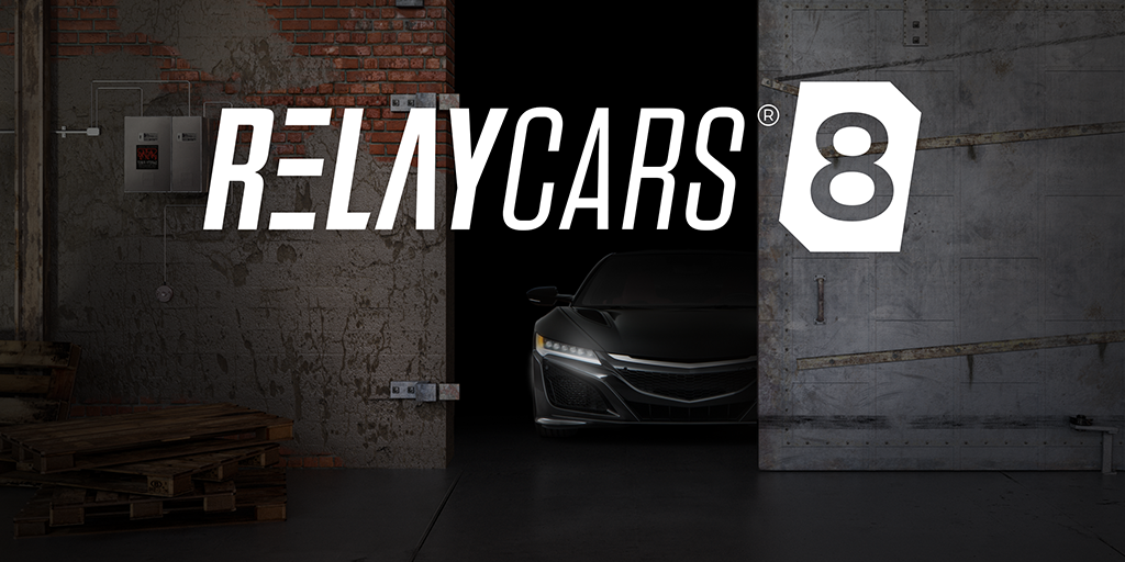 RelayCars 8 Available Now