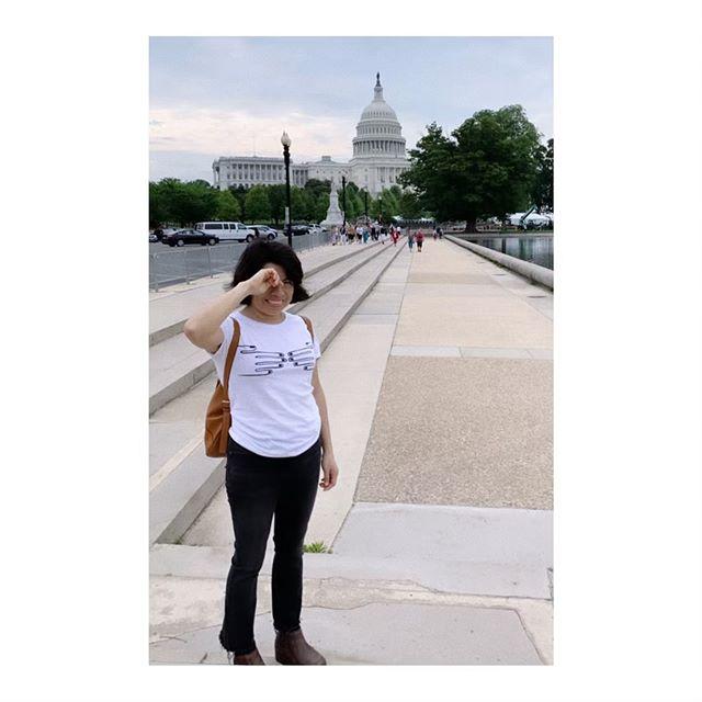 @k_tepaz taking her tee to DC!