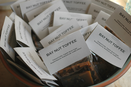 Bay nut toffee