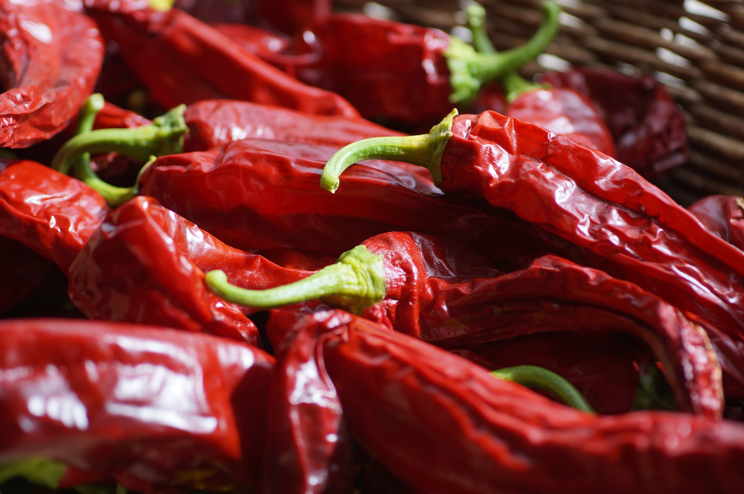 Drying Anaheim chilies. I use most of them to make chili powder that is simply amazing. Video coming someday.