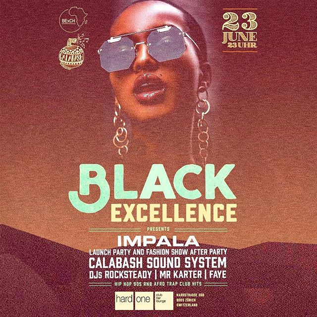 Catch us tomorrow night at @clubhardone for the label release party of Impala (presented by Black Excellence BExCH) alongside @naomiyasmine_ and @karter_mr_karter and don't miss the fashionshow before the party starting at 8 pm! #impala #BExCH #fashion #fashionshow #calabash #thecalabashment #AnAfricanTing