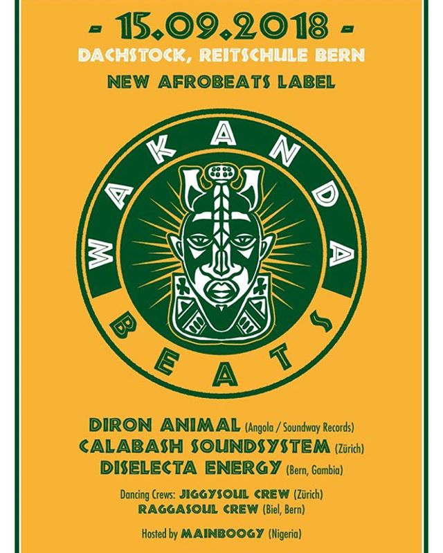 Catch us in Bern tonight at @dachstock_reitschule for the @wakandabeats label release #wakanda #wakandabeats #calabash #thecalabashment #AnAfricanTing