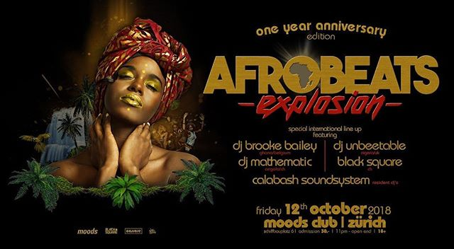 Tonight we are celebrating the 1st anniversary with the @afrobeatsexplosion family! Don't miss the outstanding lineup with @djmathematic @djunbeetable @dj_brookebailey and the blacksquare crew #afrobeatsexplosion #anniversary #calabash #thecalabashment #AnAfricanTing