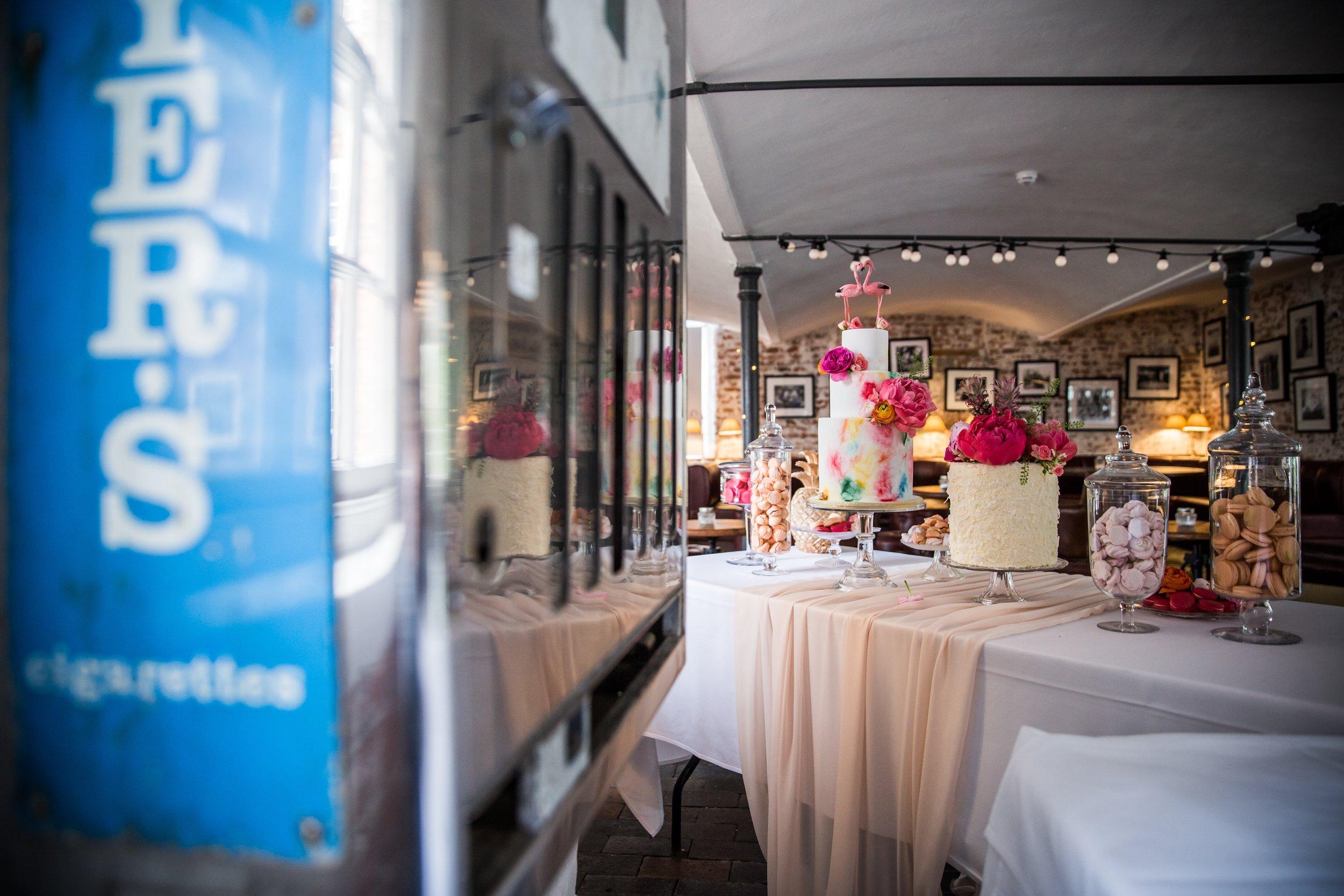 {Real Wedding Gallery: Heather & Chris}Creative & Unique Wedding Cakes | Yummy Little Cakes - Nottingham | www.yummylittlecakes.co.uk